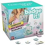 Bandai– Badge It! - Maschine zum Herstellen von Buttons– Buttonmaker– Basteln– 35400