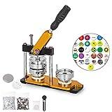 BananaB 75mm DIY Badge Press Machine 100pcs Button Parts Rotate Button Maker Machine Buttonmaschine...