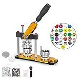 BananaB 25mm DIY Badge Press Machine 100pcs Button Parts Rotate Button Maker Machine Buttonmaschine...