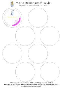 Bild Meine-Buttonmaschine.de Vorlage 56mm Blanko ohne Hilfkreis